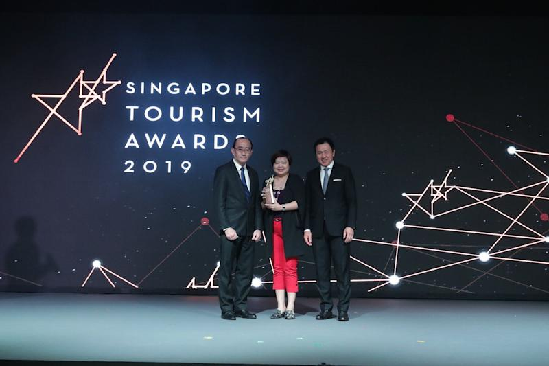 Best Retail Store Experience goes to TANGS. (PHOTO: Singapore Tourism Board)