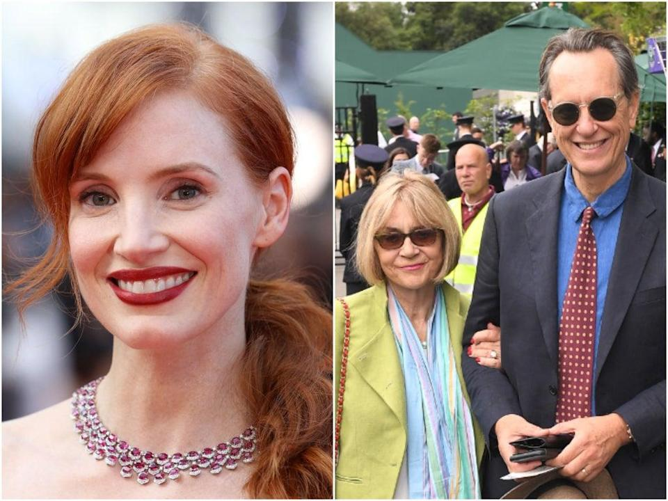 Chastain (left) worked with Washington on eight films (Getty/Shutterstock)