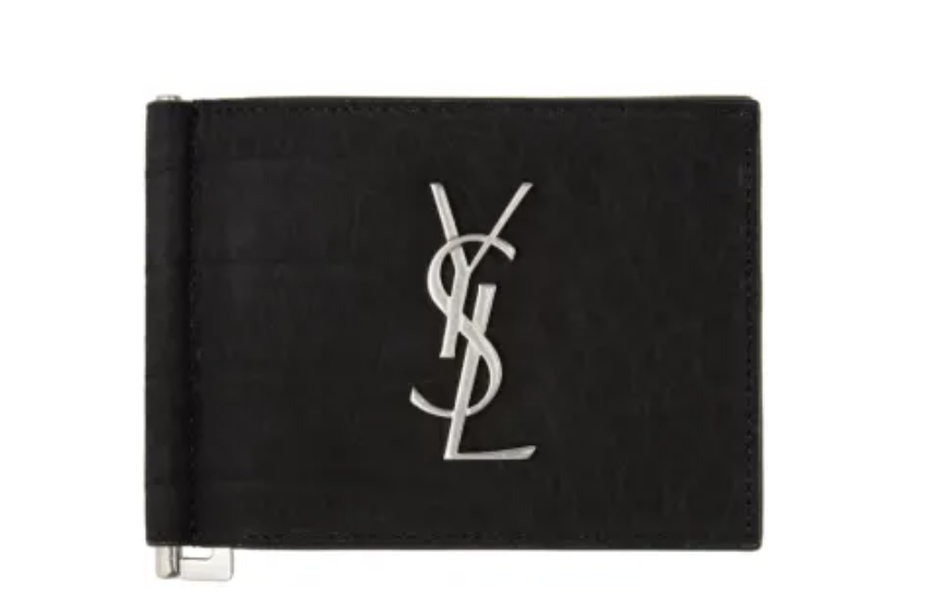 Saint Laurent Bill Clip Wallet. (PHOTO: SSense)