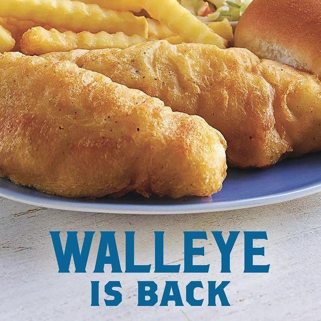 """<p>Culver's walleye has returned for a limited time run.</p><p><a href=""""https://www.instagram.com/p/B89NYI9lQit/"""" rel=""""nofollow noopener"""" target=""""_blank"""" data-ylk=""""slk:See the original post on Instagram"""" class=""""link rapid-noclick-resp"""">See the original post on Instagram</a></p>"""
