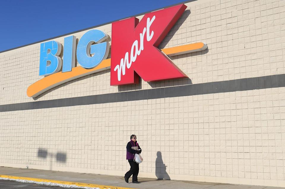 Exterior of the last standing Kmart store in Marshall on Thursday, Dec. 19, 2019.
