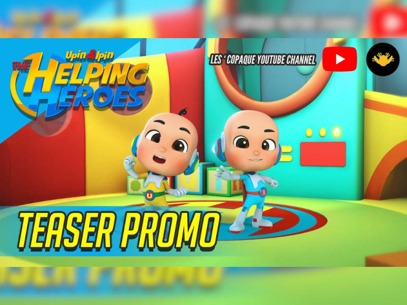 Watch your favourite characters Upin and Ipin in their new roles as superheroes!