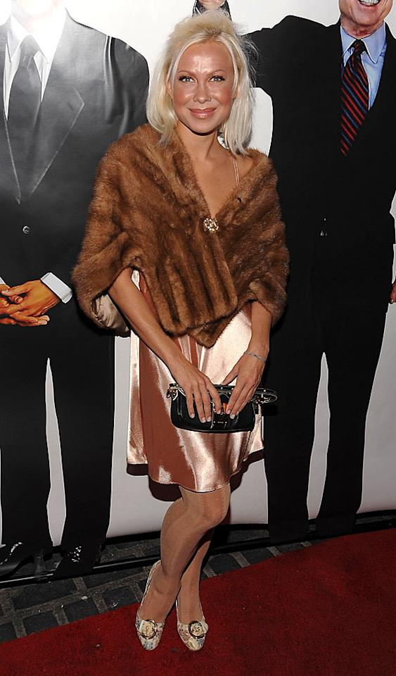 "Despite hailing from the Ukraine, former figure skating champ Oksana Baiul should know that fur of any kind is a fashion faux pas. That fake bake isn't doing her any favors either! Dimitrios Kambouris/<a href=""http://www.wireimage.com"" target=""new"">WireImage.com</a> - November 4, 2008"