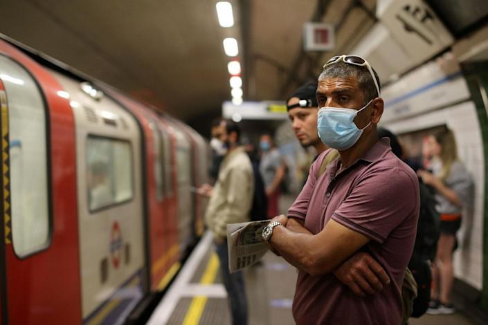 Face coverings will be mandatory from June 15 (AFP via Getty Images)