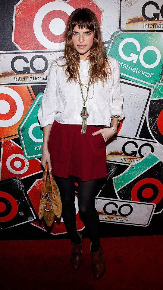 "For a limited time, Target is bringing back the top 34 designs from its GO International collaborations with designers including Proenza Schouler, Thakoon, and Rodarte, which will be available in stores starting on March 13. Lake Bell, for one, is a huge fan of the capsule collections, telling Styleite.com, ""I still have my Rogan stuff, and I rock it very effortlessly and religiously."" Joe Kohen/<a href=""http://www.wireimage.com"" target=""new"">WireImage.com</a> - March 10, 2011"