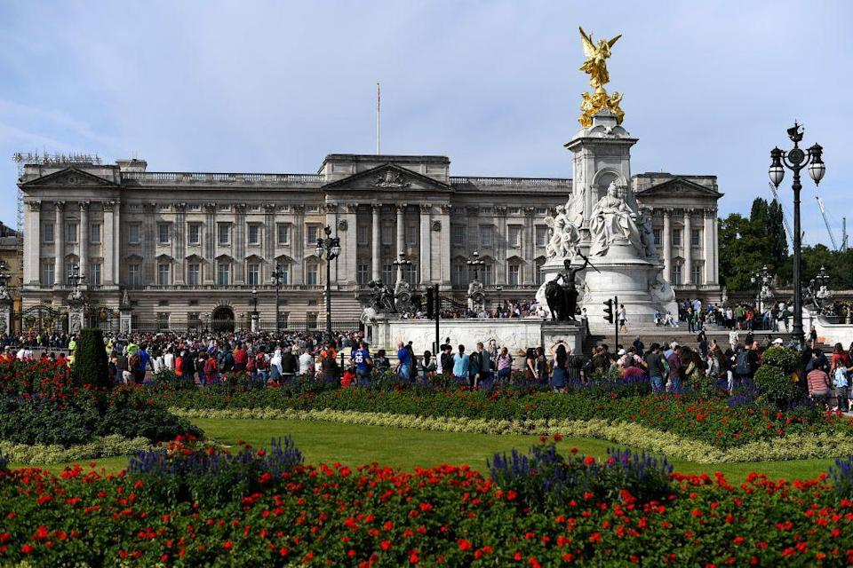 <p>Although it did not become the official London residence of the British monarchy until Queen Victoria ascended the throne in 1837, the house at the central core of Buckingham Palace was built in 1703. Architects John Nash and Edward Blore greatly enlarged the palace with the addition of three wings surrounding a central courtyard during the 1820s and 1830s. </p><p>The east wing, which encloses the palace courtyard and is the public facade of the palace, was completed in 1850 and remodeled to its current form—with the addition of three pediments, Corinthian pilasters and columns, and rusticated masonry on the ground level—in 1913.</p>