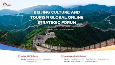 """Beijing Culture and Tourism Spearheads Post-COVID Travel Recovery with Global Online Strategic Forum: """"Restart Travel, Together with Beijing"""" (PRNewsfoto/Beijing Culture and Tourism)"""