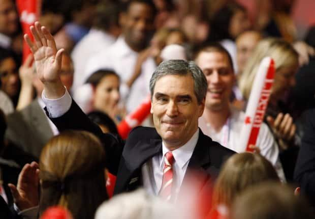 Michael Ignatieff acknowledges crowd after being named leader at the Liberal Leadership Convention in Vancouver on May 2, 2009. Ignatieff emerged as a great hope for the Liberal party, the reality proved much different.