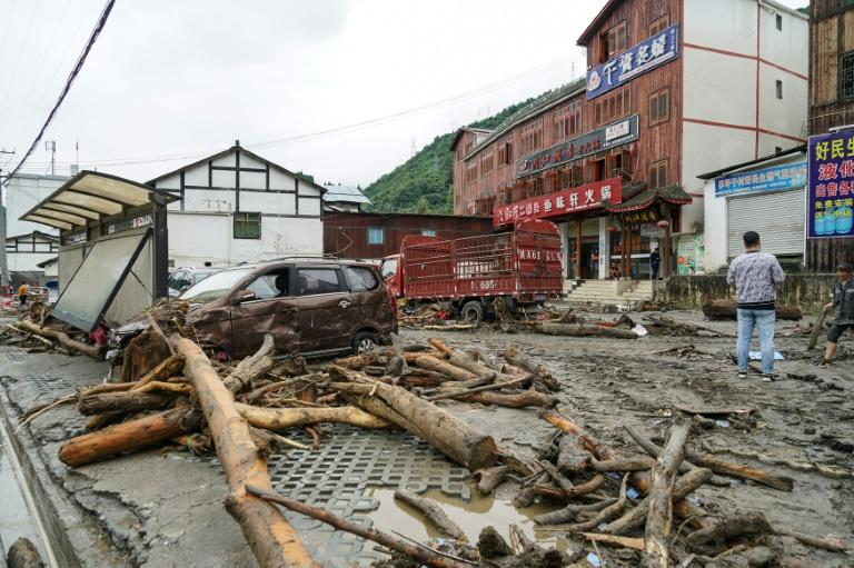 There have been multiple fatalities in SW China after a series of mudslides (AFP Photo/STR)