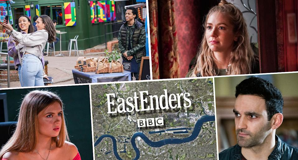 A look ahead on EastEnders (BBC)