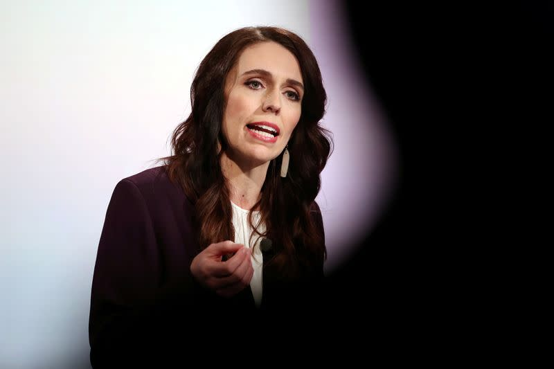 FILE PHOTO: New Zealand Prime Minister Ardern participates in a debate in Auckland