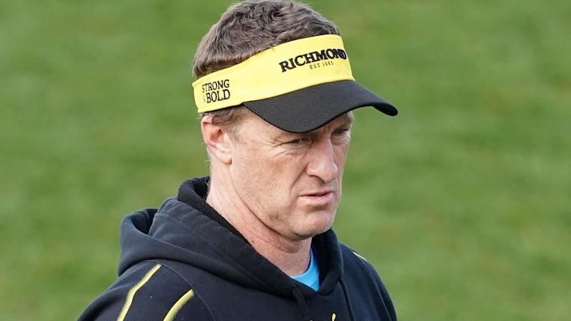 Richmond coach Damien Hardwick is nervous about Geelong's attack in their preliminary AFL final