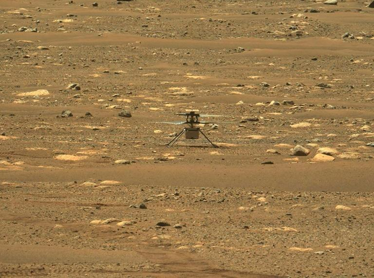 """Ingenuity was deployed to its """"flight strip"""" on April 3 and is now in the 16th sol, or Martian day, of its 30-sol (31-Earth day) flight test window"""