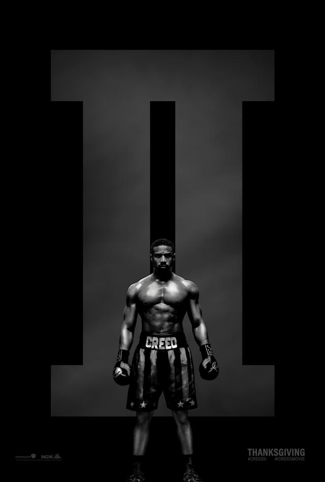 <em>Creed II</em> poster. (Image: MGM/Warner Bros.)