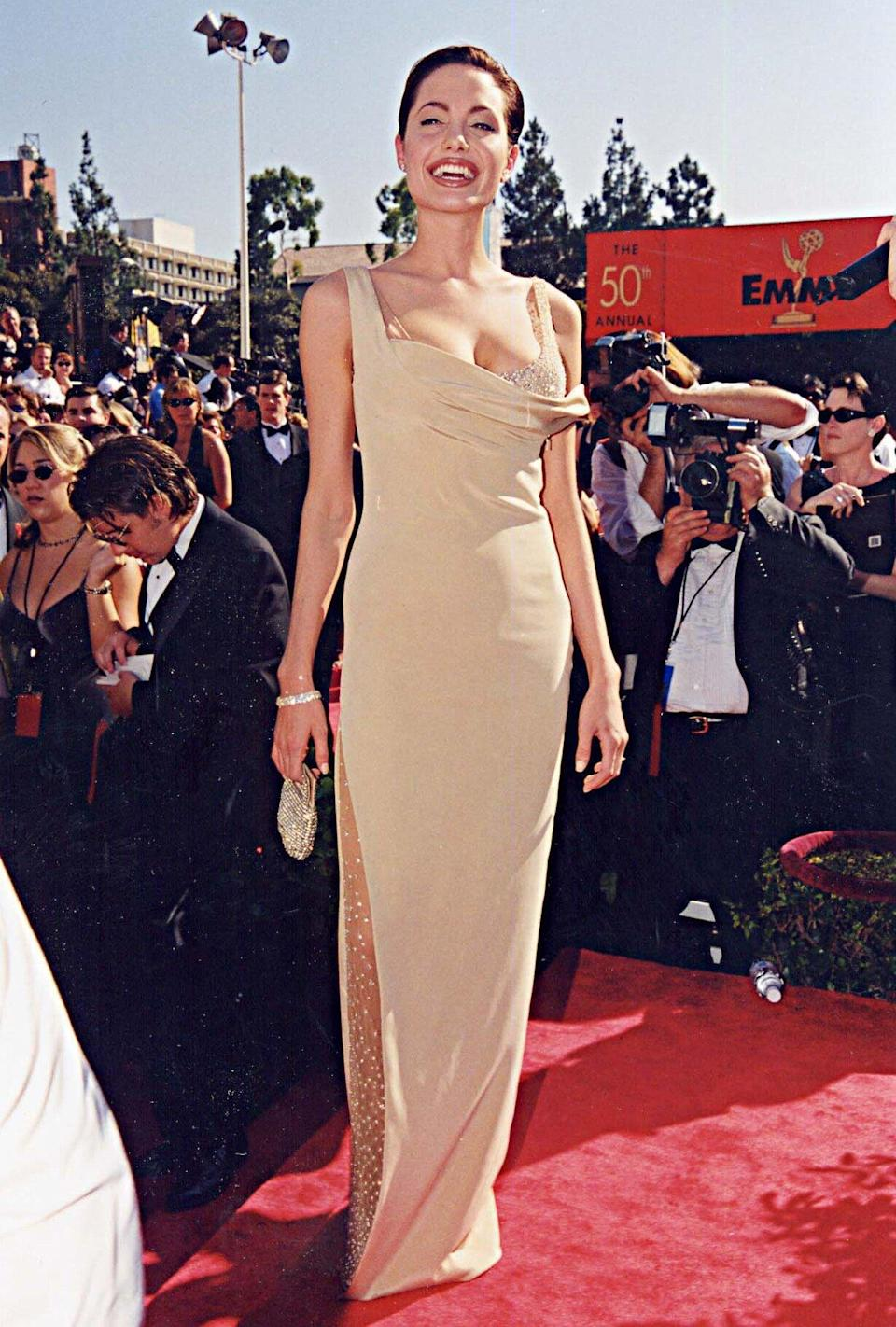 Angelina Jolie Loves Beige, But These 6 Tricks Ensure Her Outfits Are Never Boring