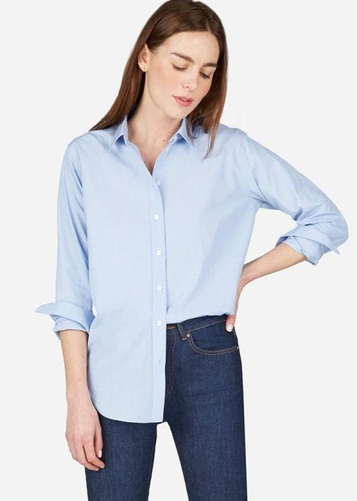 Everlane The Relaxed Cotton Shirt, $65; at Everlane