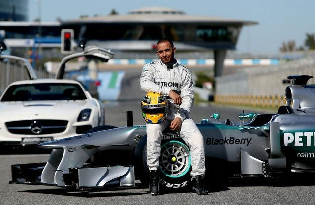 Formula One – Mercedes W04 Launch – Circuito de Jerez