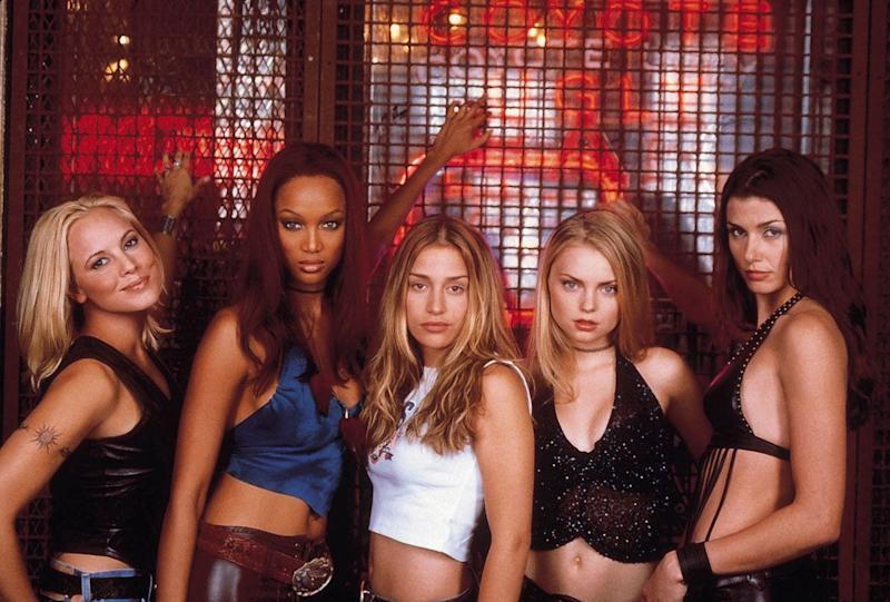Tyra Banks played Zoe in Coyote Ugly (Credit: Buena Vista Pictures)