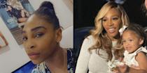 <p>The tennis pro and beauty entrepreneur changed up her natural textured hair for silky smooth golden blonde waves.</p>