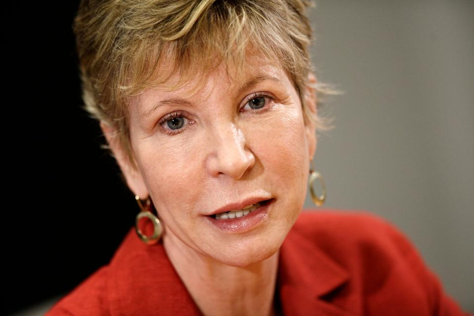 """FILE - This Aug. 10, 2009 file photo shows Karen Ignagni, president of America's Health Insurance Plans in Washington. Insurers want to change President Barack Obama's health care law to provide financial assistance for people buying bare-bones coverage. That would entice the healthy and the young, the industry says, holding down premiums. """"What is crucial for public policy leaders is to balance access and affordability,"""" said Ignagni, head of the trade group. """"Unless people feel that coverage is affordable, they won't participate in the system.""""  (AP Photo/J. Scott Applewhite, File)"""