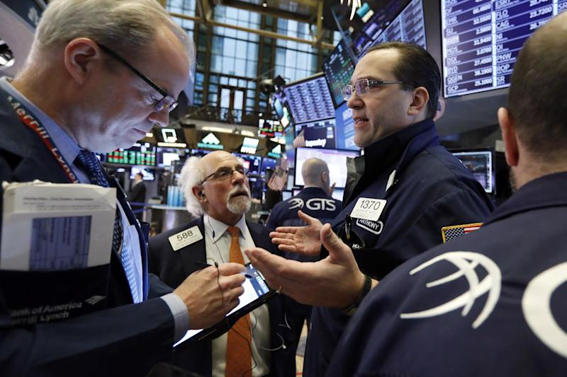 The Dow received yet another boost from a report that the US and China are on the verge of a new trade deal. | Source: AP Photo / Richard Drew