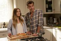 """<p>Netflix's delightful <strong>Santa Clarita Diet</strong> stars <a class=""""link rapid-noclick-resp"""" href=""""https://www.popsugar.co.uk/Drew-Barrymore"""" rel=""""nofollow noopener"""" target=""""_blank"""" data-ylk=""""slk:Drew Barrymore"""">Drew Barrymore</a> and Timothy Olyphant as Sheila and Joel, a married couple with a dark secret: Sheila has a craving for human flesh. Netflix decided in 2019 not to renew the comedy for a fourth season, but fans are still holding out hope that another network will revive the series. </p>"""