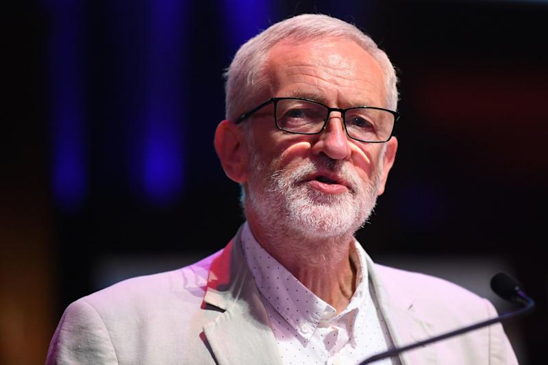 Labour leader Jeremy Corbyn must decide whether or not to introduce a motion of no confidence in the new Conservative government (Picture: PA)