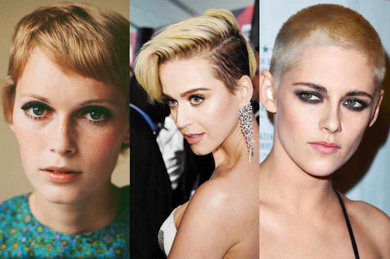 Katy Perry, Zoë Kravitz, and Kristen Stewart all got a similar look in the last month.