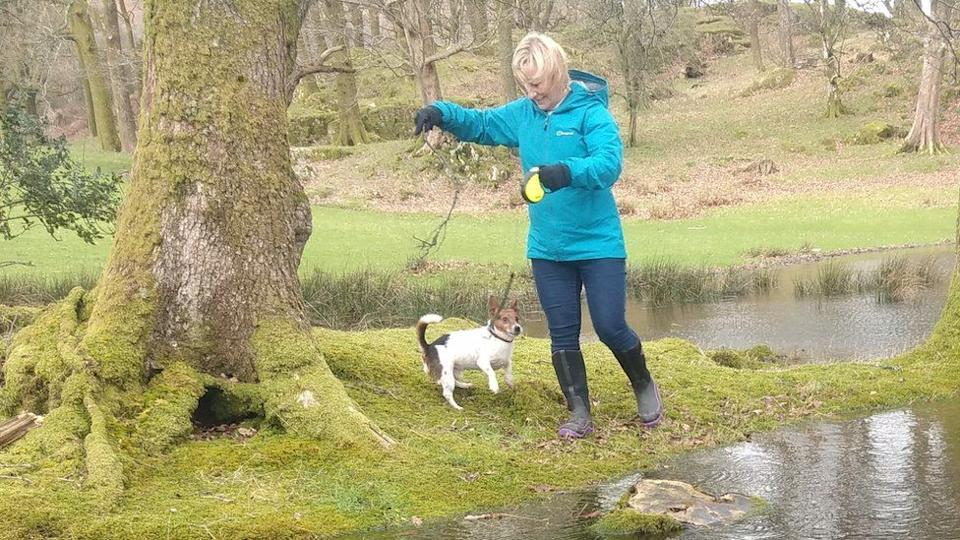 Julia James was found with her Jack Russell, Toby, by her side. (Police)
