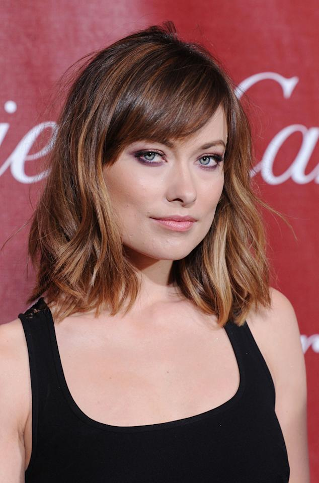 Celebrity name: Olivia Wilde Birth name: Olivia Jane Cockburn The actress took her stage name from the Irish author and playwright Oscar Wilde.