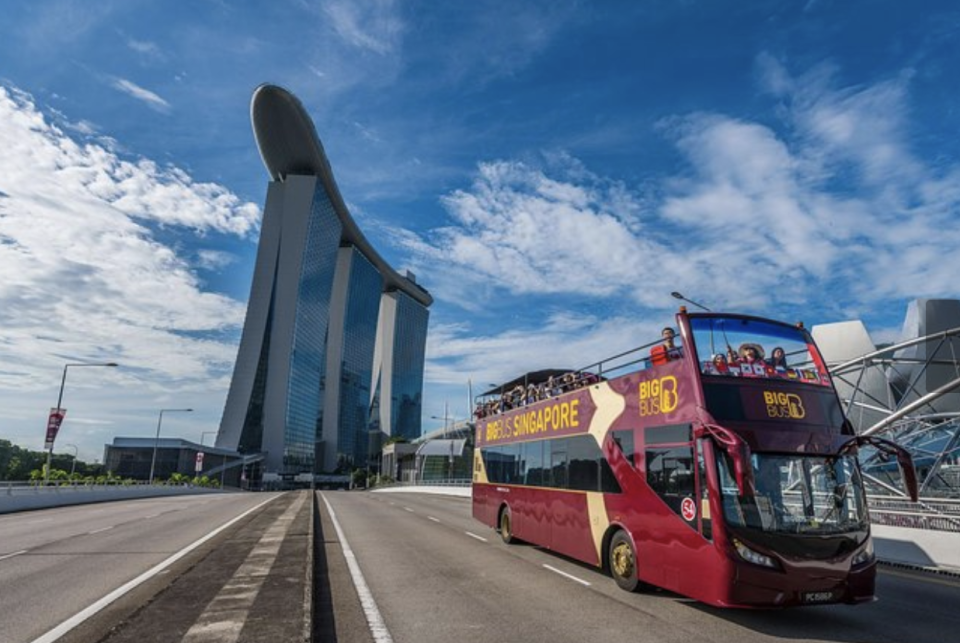 PHOTO: TripAdvisor. Big Bus Singapore Hop-On Hop-Off Tour