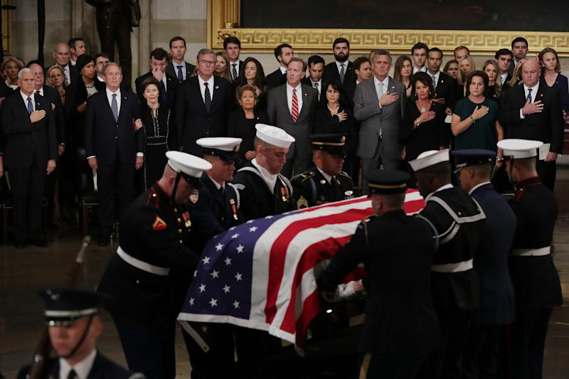 George H W Bush S Funeral Is Today Here S Everything Open And