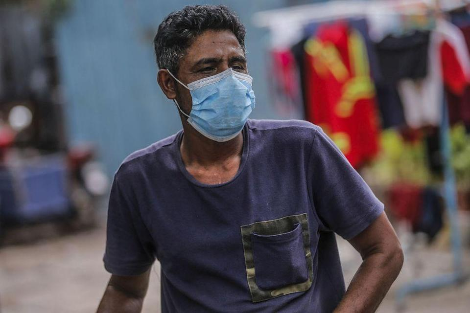 A man who wanted only to be known as Hassan speaks to Malay Mail during an interview at a Rohingya settlement in Bandar Baru Sentul, Kuala Lumpur June 13, 2021. — Picture Hari Anggara