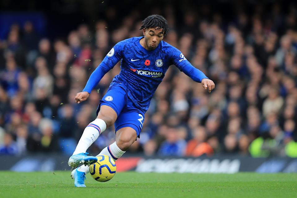 Reece James made his Premier League debut against Crystal Palace. (Photo by Marc Atkins/Getty Images)