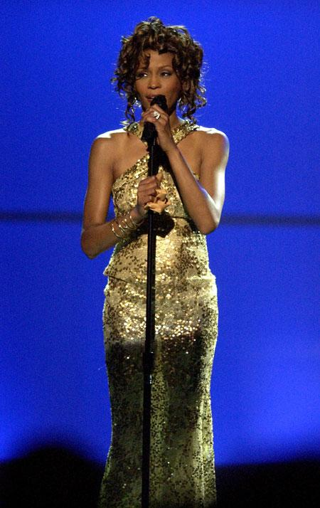 VH1 Divas Duets: A Concert to Benefit the VH1 Save the Music Foundation Show, 	Whitney Houston (Photo by M. Caulfield/WireImage) 2003