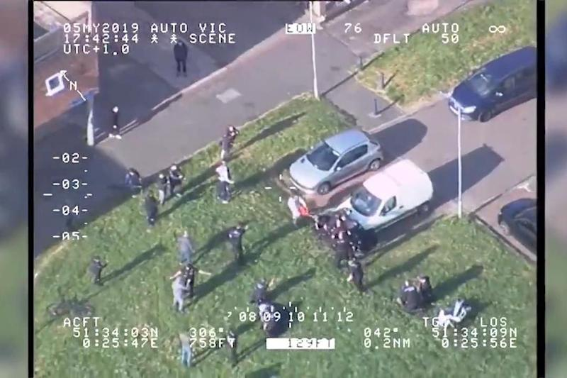 The incident took place in Basildon, Essex (Essex Police)