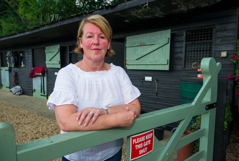 <em>Linda Watson said she had sold her land to a mystery buyer (SWNS)</em>