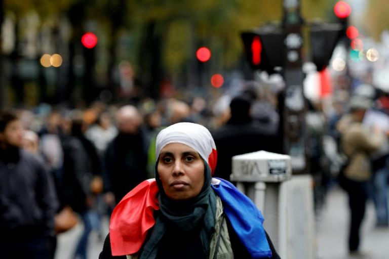 France has between five and six million Muslims, making it the largest Muslim community in Europe (AFP Photo/GEOFFROY VAN DER HASSELT)
