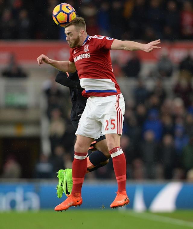 <p>Calum Chambers – Middlesbrough (WhoScored.com rating 7.40)<br> The Arsenal loanee has starred in a defence that has conceded just 30 goals all season, switching from centre back to right back. Just 22, Chambers already has three England caps to his name, but might be out of luck this time round. </p>