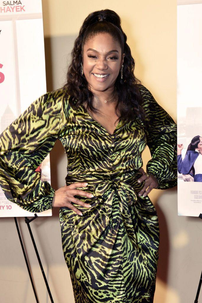 "<p><strong>Claim to fame: </strong>Comedian, actress </p><p><strong><strong>Why she's extraordinary</strong>: </strong>Following her breakout role in 2017's <em>Girl's Trip</em>, Haddish has become one of our favorite comedians, and has had a film on the big screen ever since. (<em>Night School, The Kitchen, </em><em>The Oath, and Like a Boss </em>to name a few). She also has a <em>New York Times</em> bestselling autobiography and <a href=""https://www.essence.com/celebrity/tiffany-haddish-netflix-deal-monique/"" rel=""nofollow noopener"" target=""_blank"" data-ylk=""slk:signed a stand-up special deal"" class=""link rapid-noclick-resp"">signed a stand-up special deal</a> with Netflix in 2018.</p>"