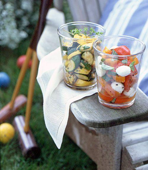 """<p>Mozzarella and farmers' market tomatoes are a match made in BBQ heaven.</p><p><em><a href=""""https://www.goodhousekeeping.com/food-recipes/a3929/easy-tomato-mozzarella-salad-2216/"""" rel=""""nofollow noopener"""" target=""""_blank"""" data-ylk=""""slk:Get the recipe for Easy Tomato and Mozzarella Salad »"""" class=""""link rapid-noclick-resp"""">Get the recipe for Easy Tomato and Mozzarella Salad »</a></em></p>"""