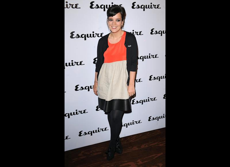 <strong>2011</strong> Lily arriving at the Esquire June Issue Party