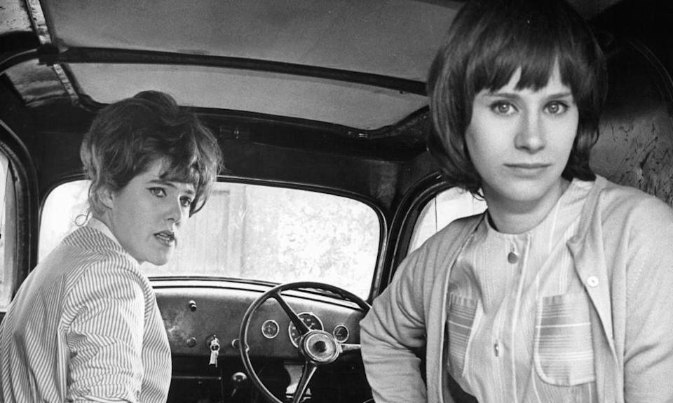 Lynn Redgrave. left, and Rita Tushingham in Girl With Green Eyes, 1964, directed by Desmond Davis.