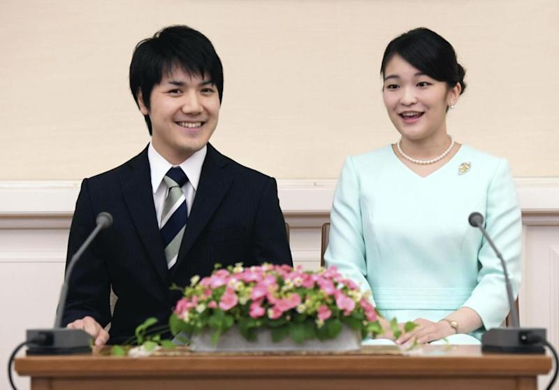 Japan's Princess Mako has backtracked majorly on her plans, announcing that both she and her fiancé, Kei Komuro, have decided to postpone their wedding. Photo: AAP