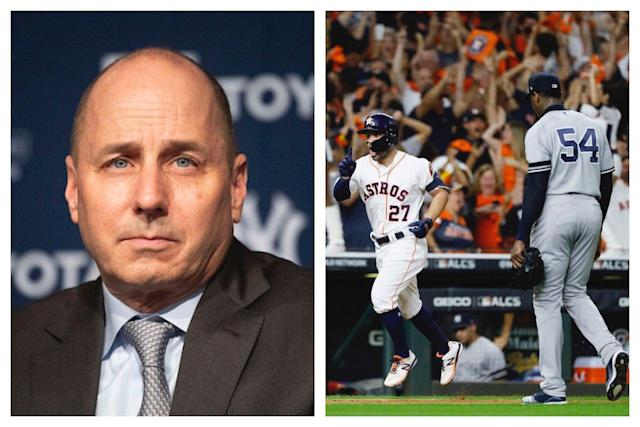 How Astros' cheating affected Yankees' Brian Cashman, Aaron Boone