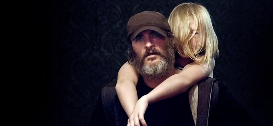 """<p>Is there anything Joaquin Phoenix can't do? Phoenix, once again, completely transforms in this mystery about a veteran who makes it his mission to rescue a missing teenage girl. Unbeknownst to him, he'll have to face a lot of corruption along the way.</p> <p><a href=""""https://www.amazon.com/You-Were-Never-Really-Here/dp/B089XZB9B3/ref=sr_1_1?crid=2UVXPWN387UMK&dchild=1&keywords=you+were+never+really+here&qid=1608334743&s=instant-video&sprefix=you+were+n%2Cinstant-video%2C183&sr=1-1"""" rel=""""nofollow noopener"""" target=""""_blank"""" data-ylk=""""slk:Available to stream on Amazon Prime"""" class=""""link rapid-noclick-resp""""><em>Available to stream on Amazon Prime</em></a></p>"""
