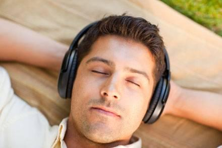 Listening to loud music through headphones could damage your hearing