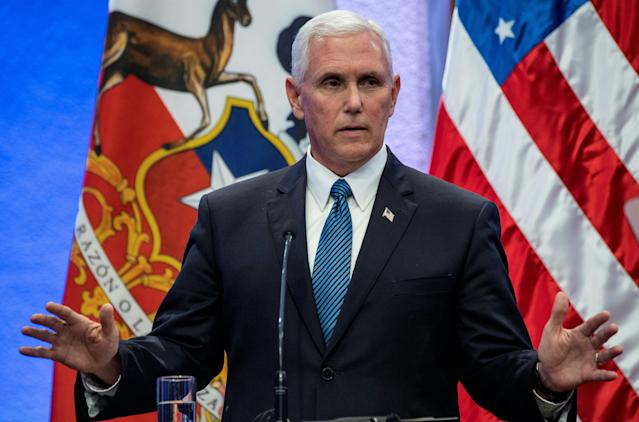 Vice President Mike Pence (POOL/AFP | Martin Bernetti)