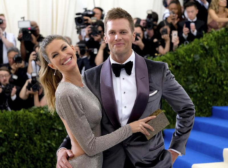 Does Mrs. Brady know best? Tom Brady didn't deny his wife Gisele Bundchen's claim he suffered a concussion in 2016. (AP)