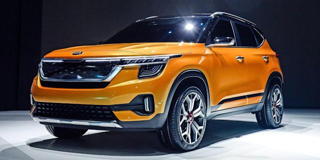 A And B Kia >> The Kia Seltos Is A New Small Suv And It S Likely To Come To The U S
